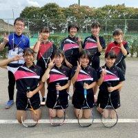 令和2年度 茨城県中学校新人体育大会 女子ソフトテニス部 団体の部に出場