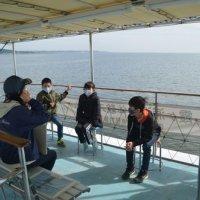 4年生 霞ヶ浦湖上体験スクール (10月22日)